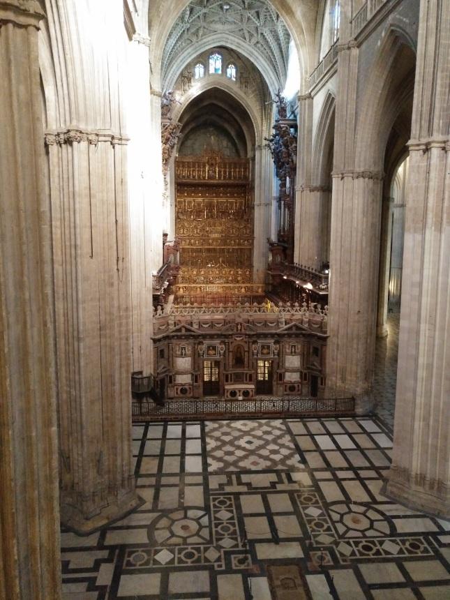 Sevilija_katedra_altorius